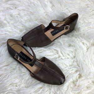 Ellen Tracy flats sandals close toe